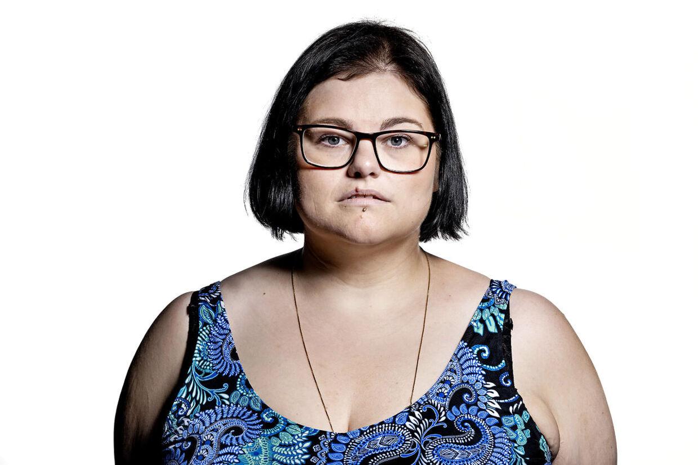 Nadja Engsig lider af tvangsoverspisning, også kaldet BED. Foto Bax Lindhardt