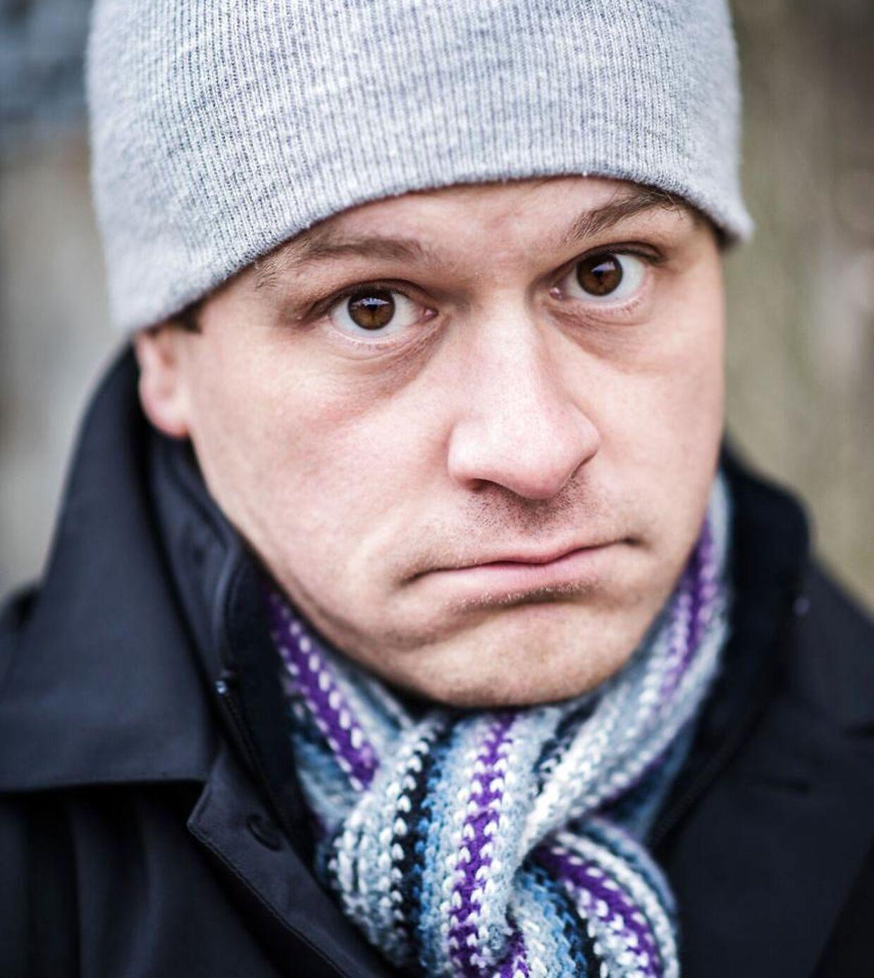 Komiker Christian Fuhlendorff.