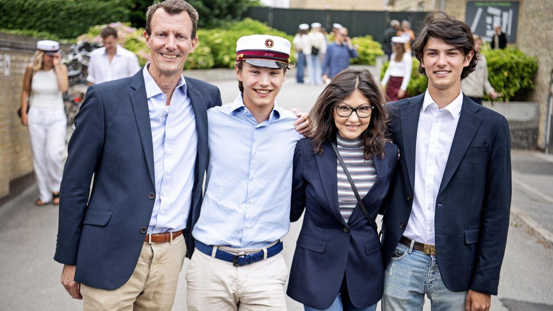 Prins Felix blev student fra Gammel Hellerup Gymnasium onsdag 23. juni 2021.
