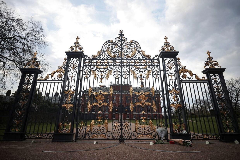 Mobbesagerne skulle have stået på, mens prins Harry og Meghan Markle boede på Kensington Palace. REUTERS/Hannah McKay