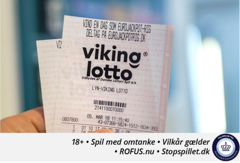 En dansker vandt onsdag aften lidt over syv millioner. Foto: Danske Spil.