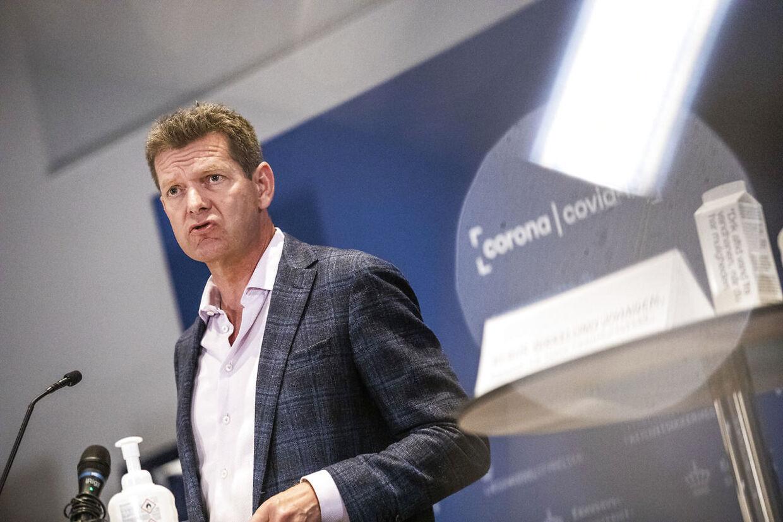 Sundhedsstyrelsen har fået en irettesættelse af sundhedsminister Magnus Heunicke. Her er det direktør Søren Brostrøm.