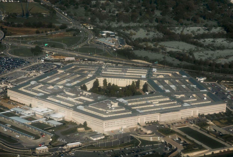 (FILES) Det er det amerikanske forsvarsministerium Pentagon, der udgiver den længe ventede UFO-rapport (Foto: SAUL LOEB/Scanpix 2017)
