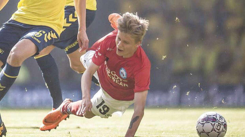 Magnus Mattsson kommer ikke flyvende ind i Superligaen med Silkeborg.