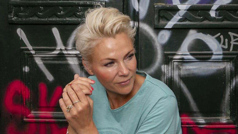 Tv-værten Lene Beier.