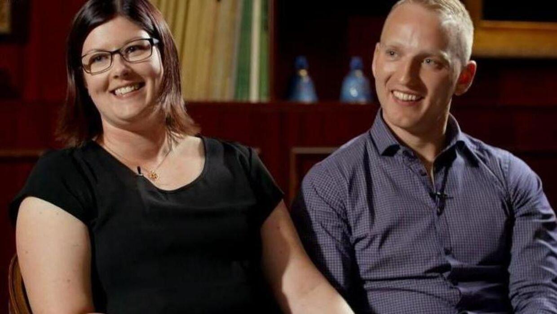 Thomas og Nikoline Bertram mødte hinanden i datingprogrammet 'Landmand søger kærlighed'.