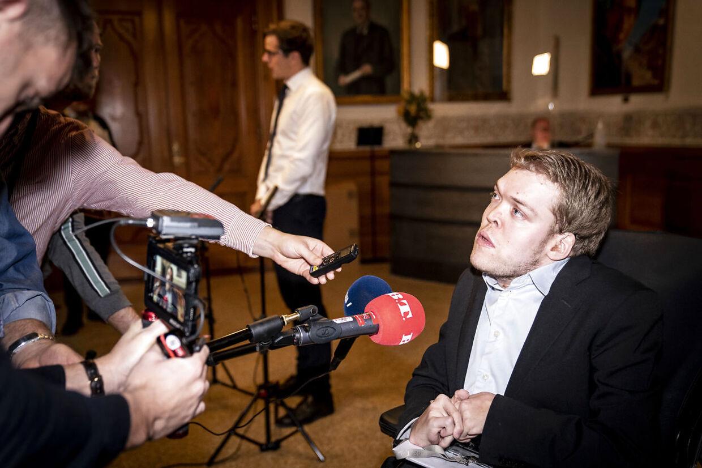 Kristian Hegaard blev valgt til Folketinget for Radikale Venstre i 2019. Han er en af de politikere, som ofte er genstand for den hårde tone på de sociale medier.