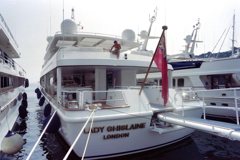 Robert Maxwells yacht, som han forsvandt fra i juni 1991, var opkaldt efter datteren.