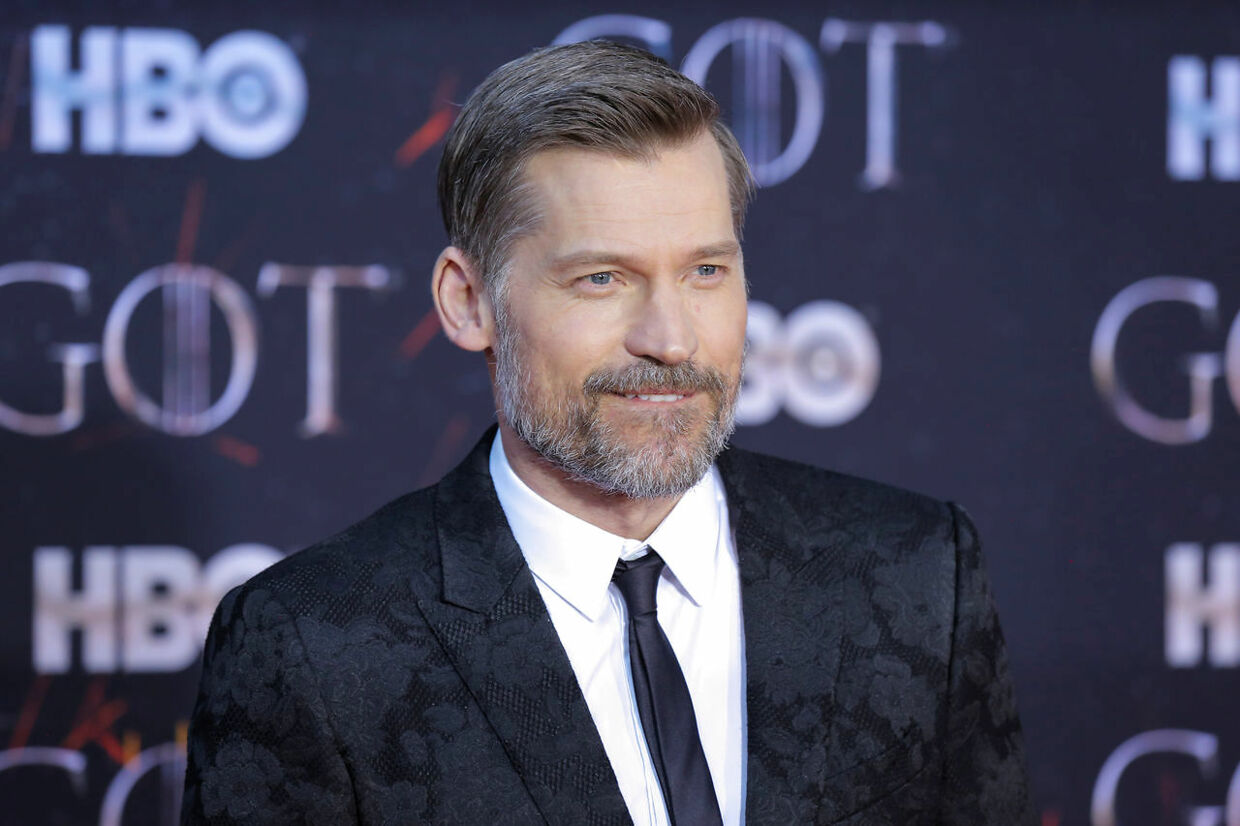 """Nikolaj Coster-Waldau arrives for the premiere of the final season of """"Game of Thrones"""" at Radio City Music Hall in New York, U.S., April 3, 2019. REUTERS/Caitlin Ochs"""