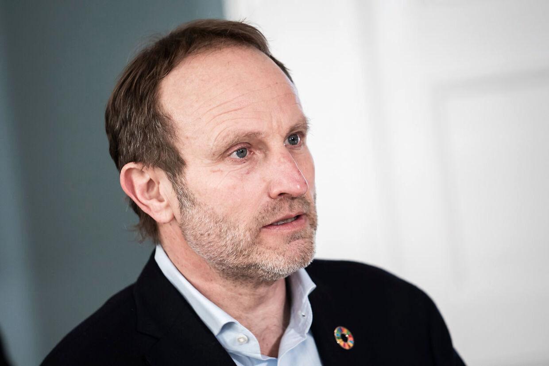 Her er formanden for Udenrigspolitisk Nævn, Martin Lidegaard, fra Radikale Venstre (Foto: Emil Helms/Ritzau Scanpix)