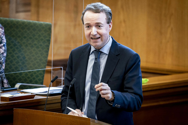 Michael Aastrup Jensen (V) er næstformand i Udenrigspolitisk Nævn. (Foto: Mads Claus Rasmussen/Ritzau Scanpix)