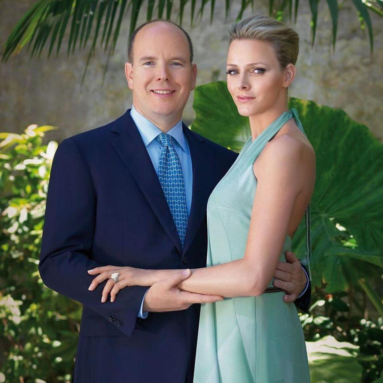 Dette billede blev sendt ud i forbindelse med, at parret offentliggjorde deres forlovelse i 2010.