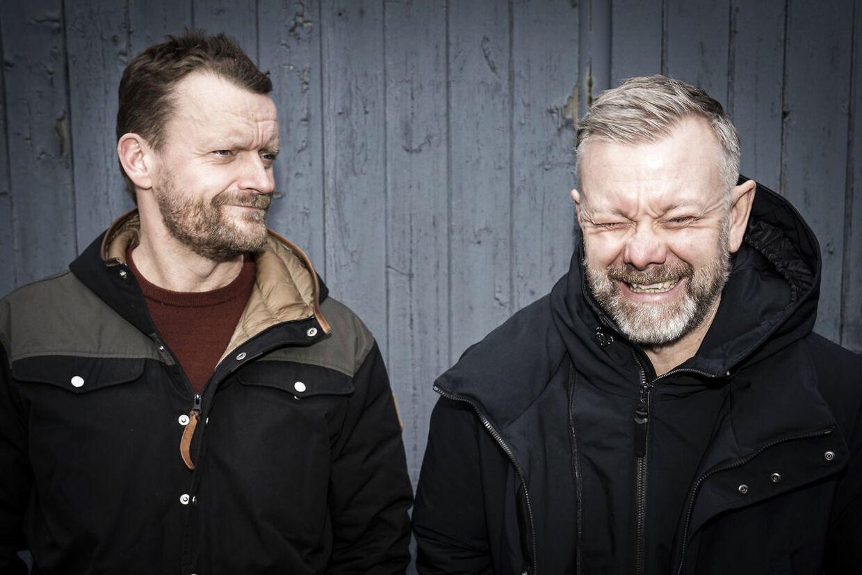 Casper Christensen og Frank Hvam er aktuelle med ottende sæson af 'Klovn'.