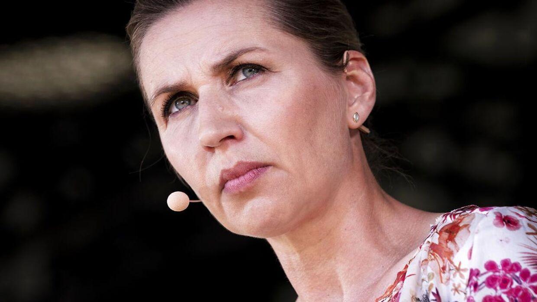 Statsminister og formand for Socialdemokratiet Mette Frederiksen