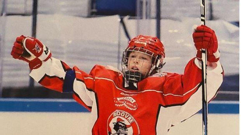 Bjørn spiller selv ishockey. Foto: Instagram.