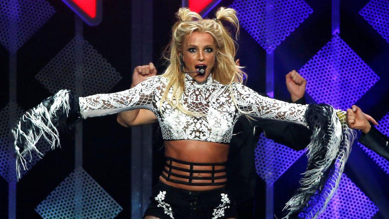 Britney Spears ses her under en optræden i 2016.