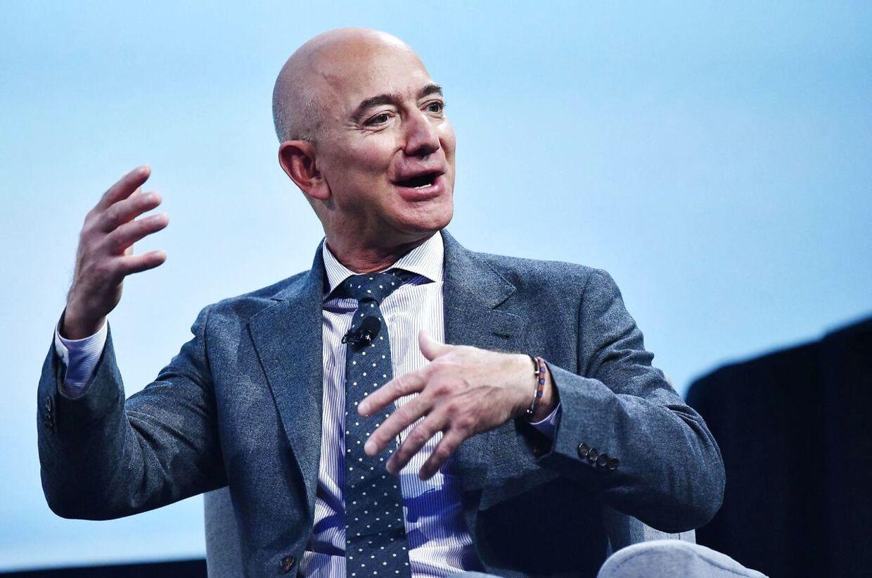 Jeff Bezos, grundlægger af Amazon og en af verdens rigeste mænd.