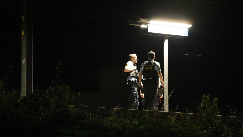 En person afgik lørdag aften ved døden efter at være påkørt af toget ved Nordhavn Station i København.