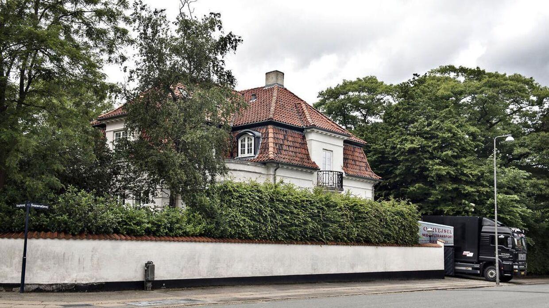 Grevinde Alexandras tidligere hus på Svanemøllevej på Østerbro.