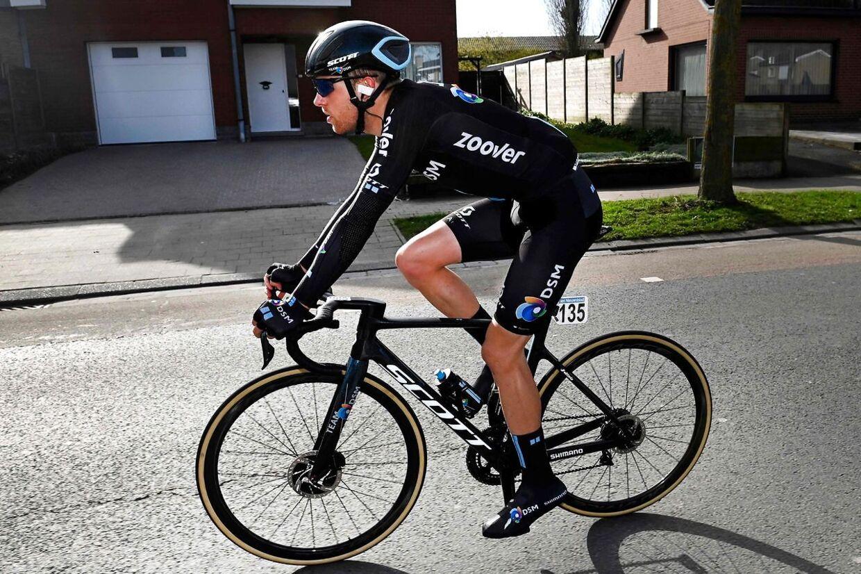 »Jeg havde stadig kuldegysninger to timer efter;« fortæller Casper Pedersen om den vanvittige etape.
