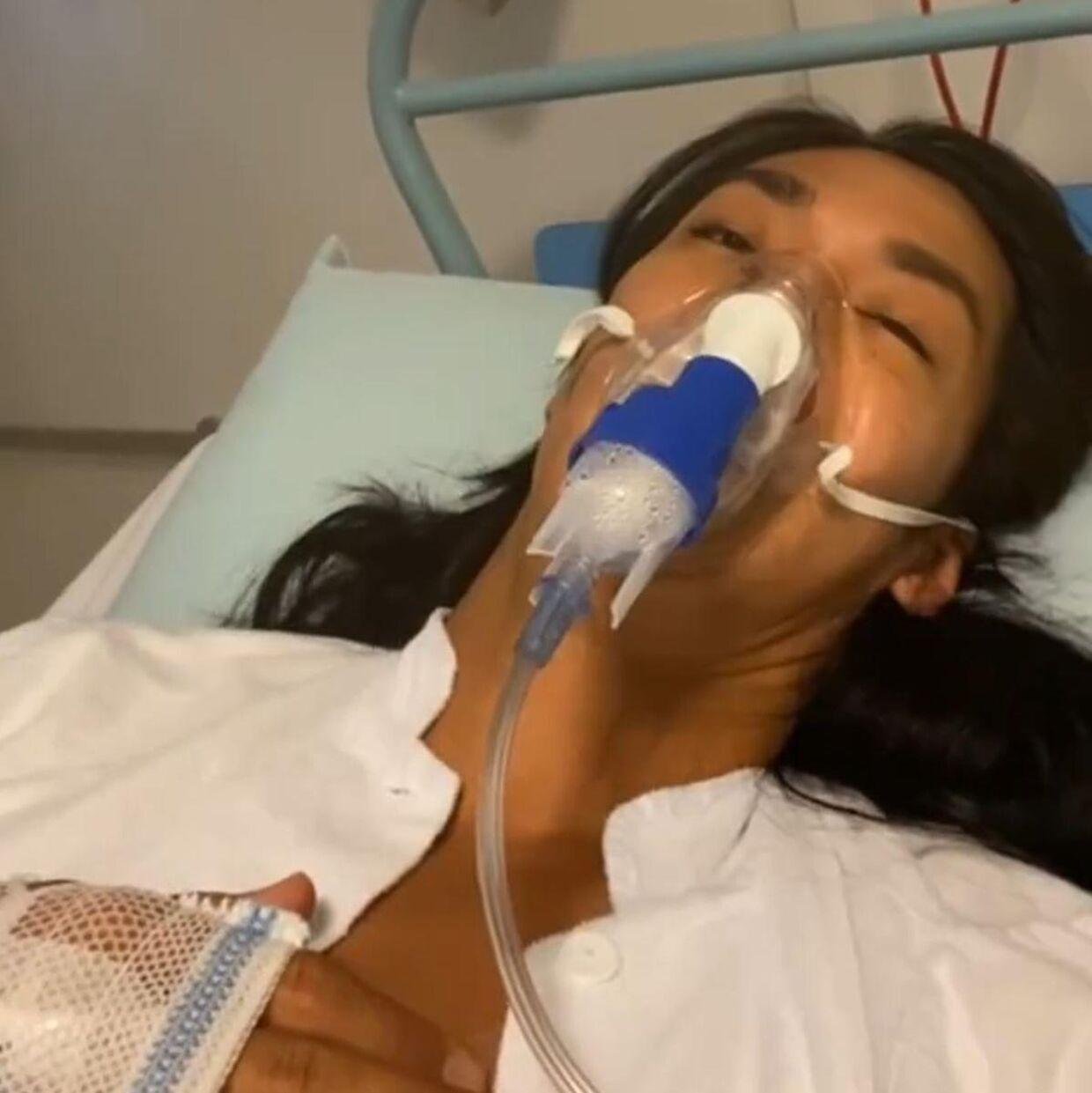 Sy Lee var indlagt i tre uger på Herlev Hospital.