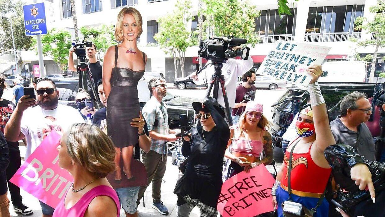 Fans har støttet Britney Spears hele vejen.