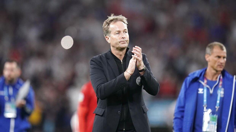 Semifinalen mellem England og Danmark på Wembley, onsdag den 7. juli 2021