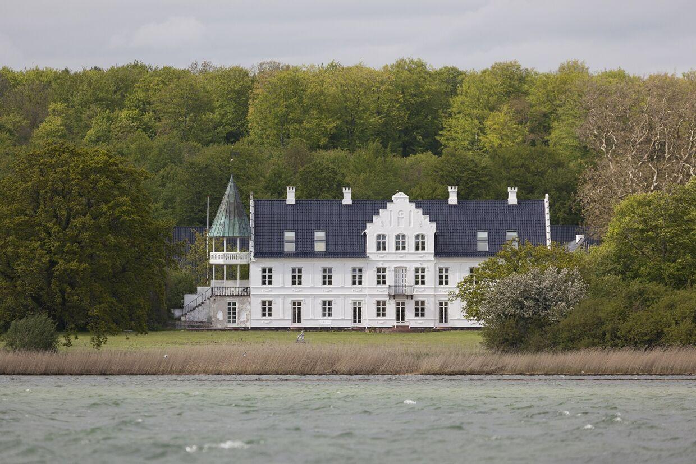 Bjørnemose Gods ved Svendborg har været centrum om en kæmpe ballade.