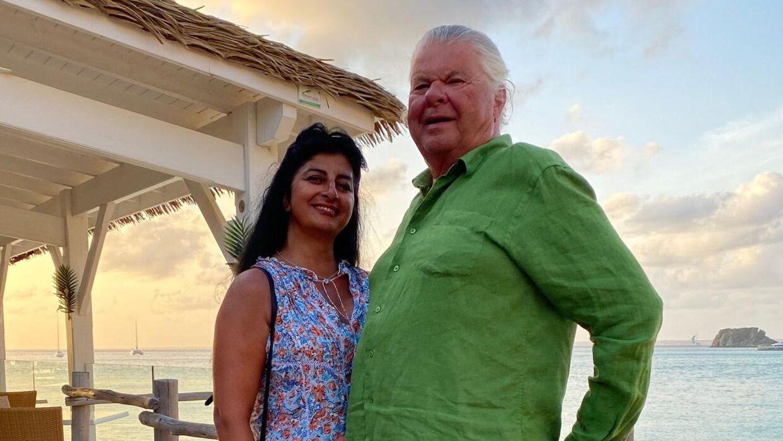 Christian Kjær og Susan Astani ses her på en af deres rejser.