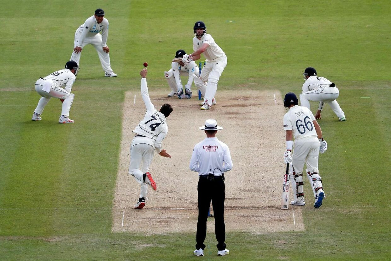 Cricketlandskamp mellem England og New Zealand i London. Cricket er den største sportsgren i mange af de tidligere britiske kolonier.