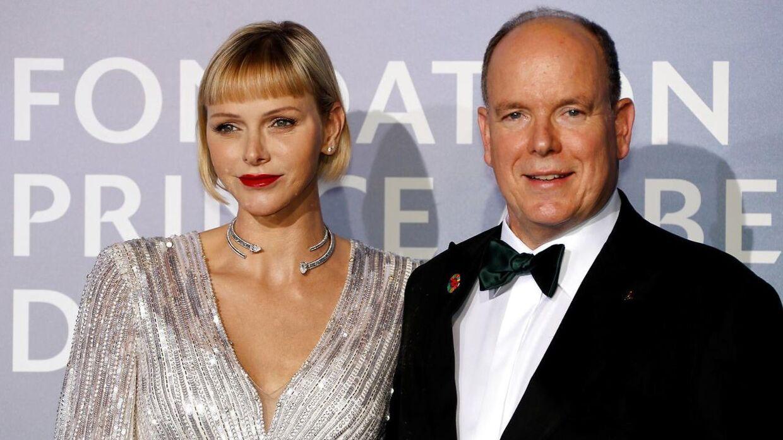 Prins Albert og fyrstinde Charlene.