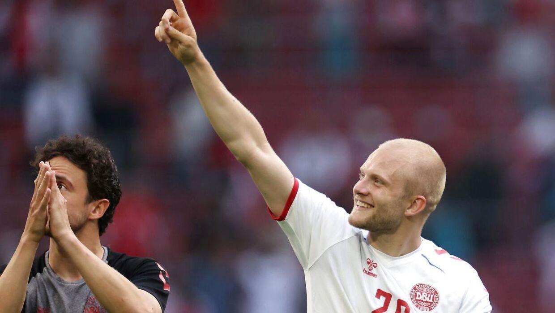Nicolai Boilsen fik spilletid ved EM mod Wales på sin gamle hjemmebane Amsterdam Arena.