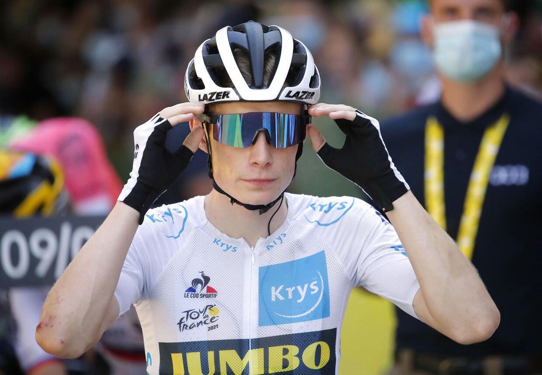 Der var ikke meget hjælp til Jonas Vingegaard på søndagens etape.