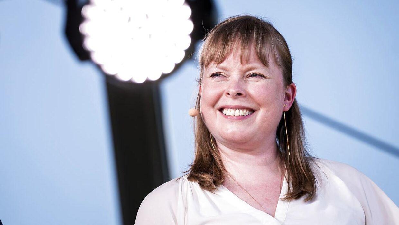 40-årige Joy Mogensen har tidligere været borgmester i Roskilde-.