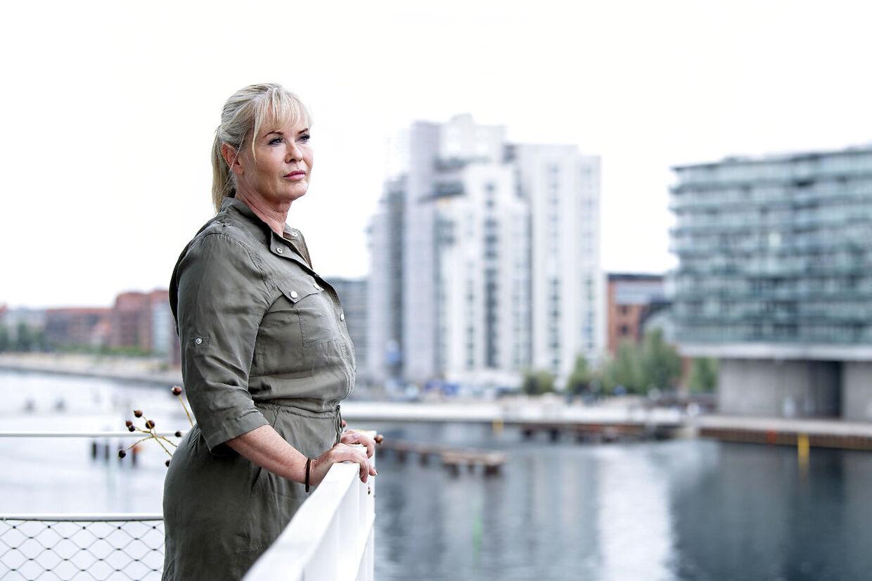 At have et palæ i Bagsværd med egen sø var ikke dét, der gjorde Birgit Aaby glad. Det gør til gengæld den mere ydmyge lejlighed i København.