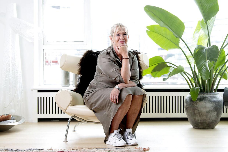 For første gang i sit liv er Birgit Aaby, hvad hun selv kalder 'arbejdsløs'. Og hun nyder det.