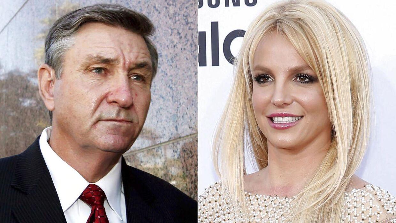 Jamie Spears, far til Britney Spears, og Britney Spears.