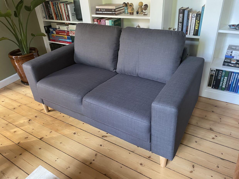 Det var en sofa i perfekt stand, som Jysk modtog billeder af, inden de bad B.T.s journalist skrotte den.