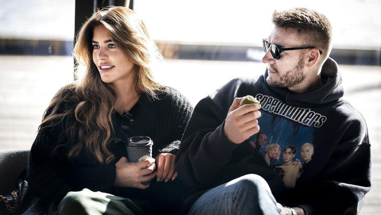 Nicklas Bendtner og Philine Roepstorff danner ikke længere par.