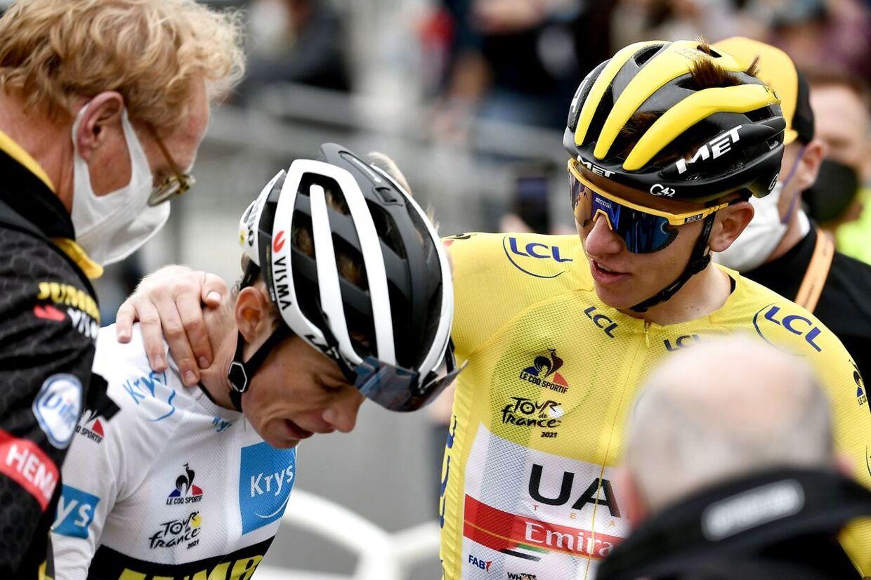 Der er ingen tvivl. Jonas Vingegaard og Tadej Pogacar har været de stærkeste hidtil i årets Tour de France.