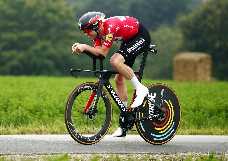 Sammen med Jonas Vingegaard ligner Kasper Asgreen et godt bud på en dansk etapesejr ved lørdagens enkeltstart.
