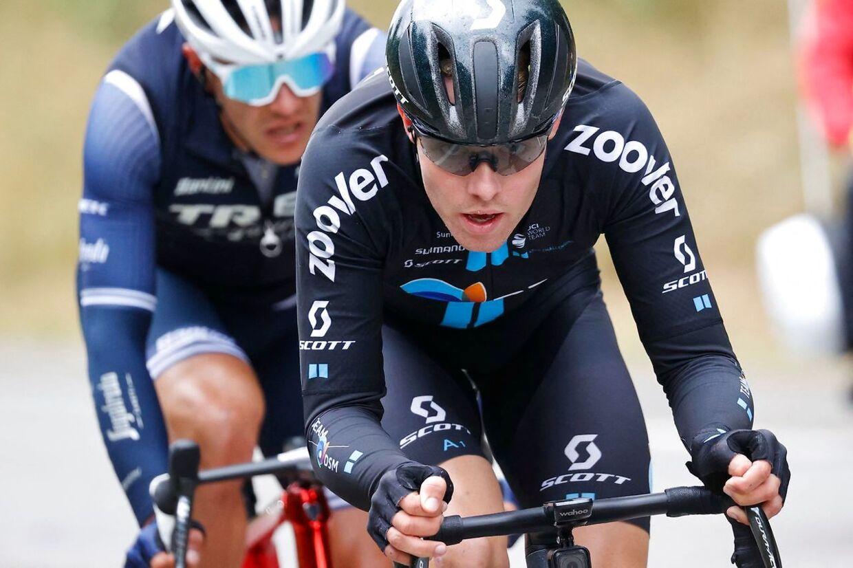 Casper Pedersens angrebsraseri udmøntede sig i en flot tredjeplads på fredagens etape.