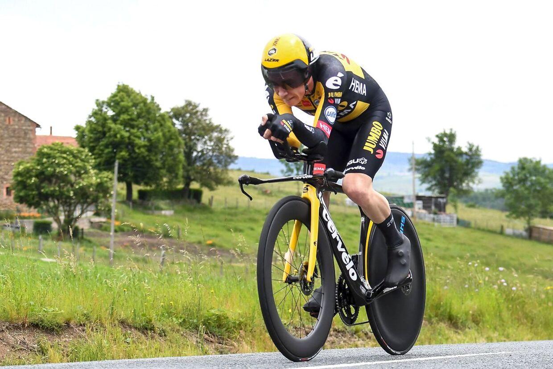 Jonas Vingegaard, der har lagt cyhelverdenen ned i Tour de France, er fra Glyngøre.