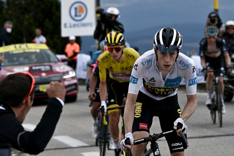 Tourens 11. etape blev et vendepunkt for Jonas Vingegaard.