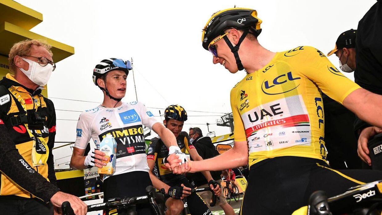Tadej Pogacar tror på, at Vingegaard inden for kort tid kan vinde verdens største cykelløb.