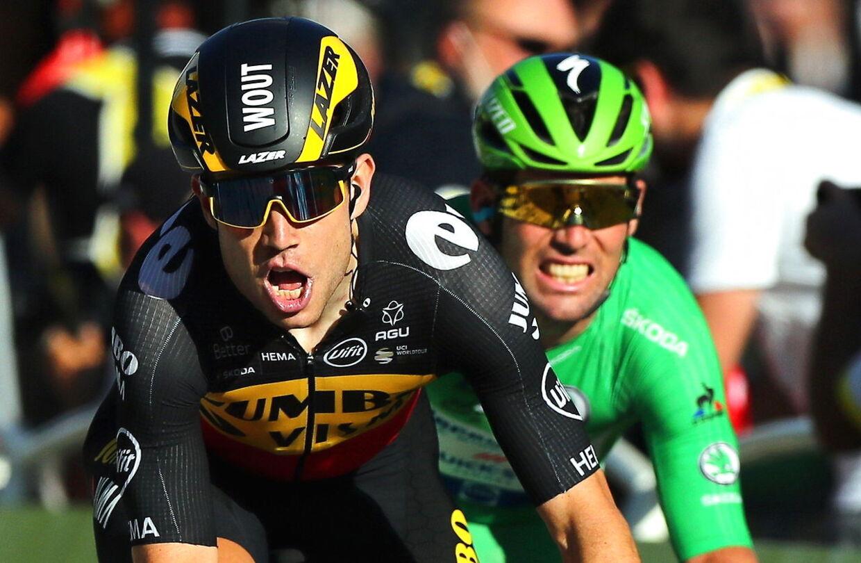 For en gangs skyld gik det ikke Mark Cavendishs vej i en sprint.