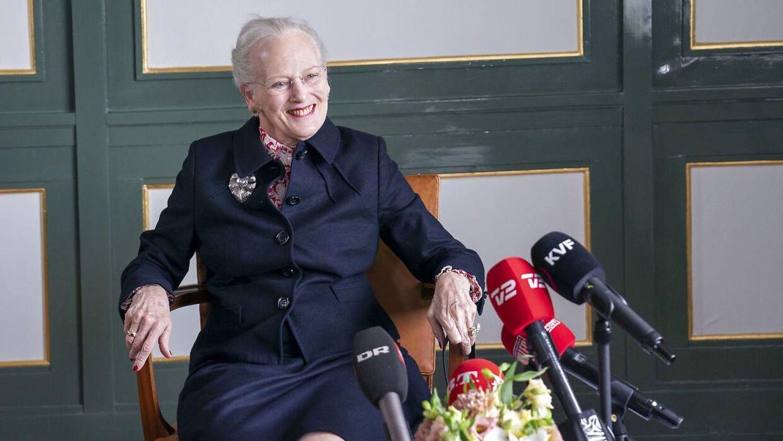 Afsluttende pressemøde med dronning Margrethe efter besøget på Færøerne.