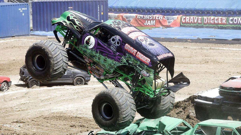 Dette er ikke et billede fra det egentlige show. Dette er blot et billede af et monster truckshow.