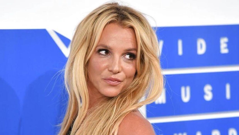 Britney Spears til MTV Awards i 2016.