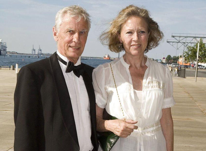 Birthe Neumann og Paul Hüttel har været sammen i knap fem årtier.